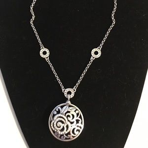 Brighton Deco Rose Necklace